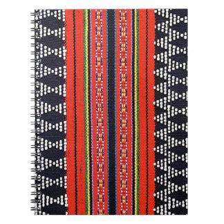 ラオス人の編むノート ノートブック
