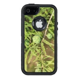 ラクウショウの種の円錐形 オッターボックスディフェンダーiPhoneケース