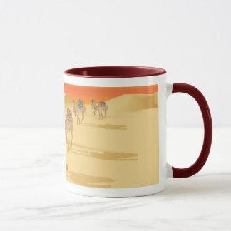 ラクダが付いているマグ マグカップ