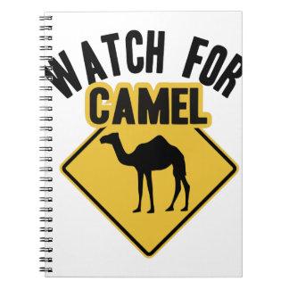 ラクダのために見て下さい ノートブック