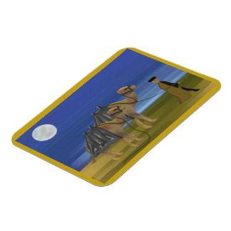 ラクダのキャラバンの報酬の磁石 マグネット