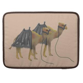 ラクダのキャラバン MacBook PROスリーブ