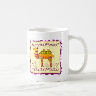 ラクダのキルト コーヒーマグカップ