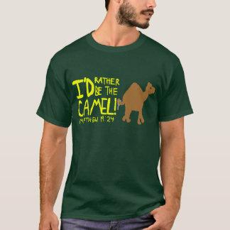 ラクダのワイシャツ Tシャツ