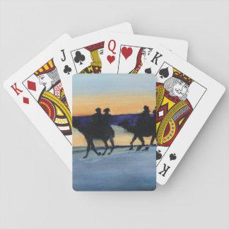 ラクダの乗馬 トランプ
