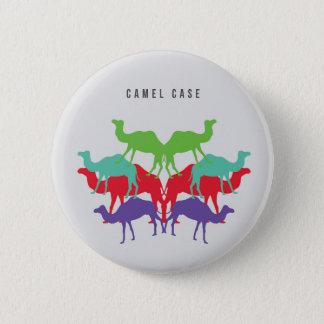 ラクダの例ボタン 缶バッジ