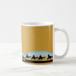 ラクダの列車 コーヒーマグカップ