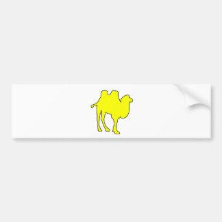 ラクダの砂漠の馬のこぶのほ乳類 バンパーステッカー