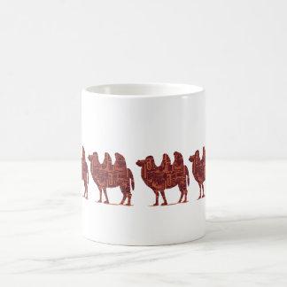 ラクダの護送 コーヒーマグカップ