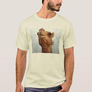 ラクダの顔のTシャツ Tシャツ