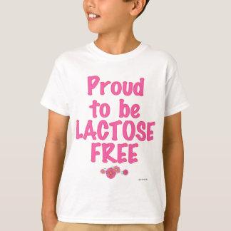 ラクトーゼの自由ピンク Tシャツ