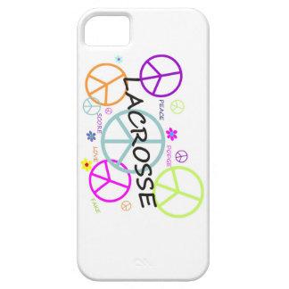 ラクロスによって着色されるピースサイン iPhone SE/5/5s ケース
