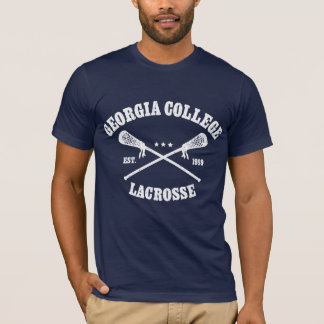 ラクロスのロゴ Tシャツ