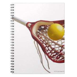 ラクロスの棒および球 ノートブック