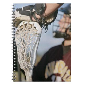 ラクロスの棒の手 ノートブック