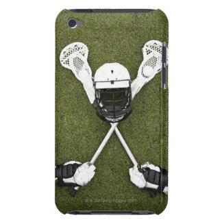 ラクロスの棒、手袋、球およびスポーツのヘルメット Case-Mate iPod TOUCH ケース