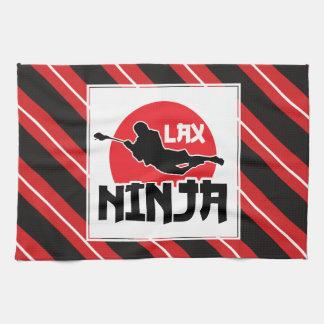 ラクロスの「LAXの忍者」のふきん キッチンタオル