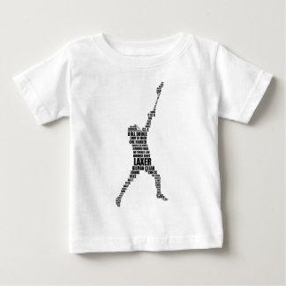 ラクロスプレーヤー ベビーTシャツ