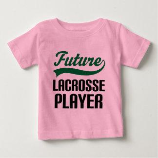 ラクロスプレーヤー(未来) ベビーTシャツ