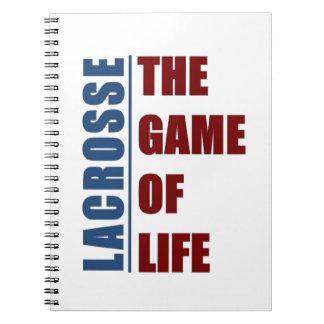 ラクロス生命のゲーム ノートブック