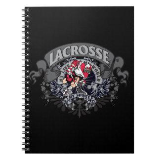 ラクロス私のスポーツ ノートブック