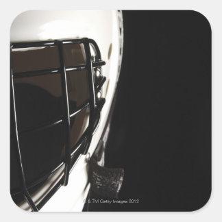 ラクロス|ヘルメット 正方形シールステッカー