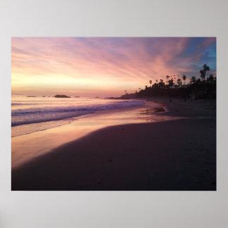 ラグナのビーチのキャンバス ポスター