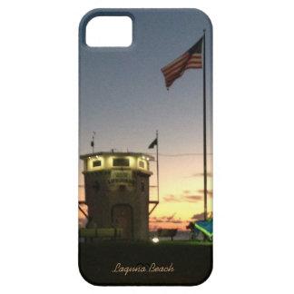 ラグナのビーチのライフガードの場所 iPhone SE/5/5s ケース