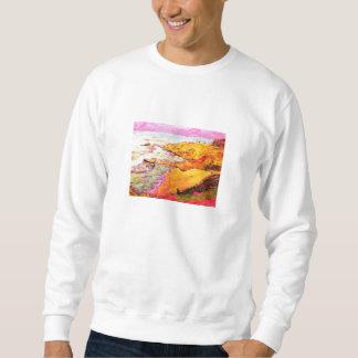 ラグナのビーチの入江 スウェットシャツ