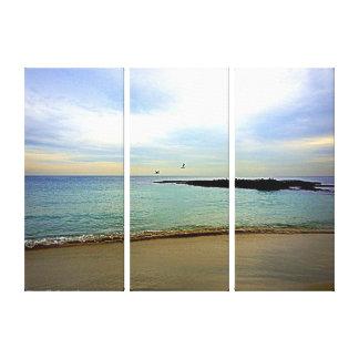 ラグナのビーチの平静 キャンバスプリント