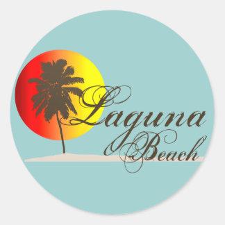 ラグナのビーチカリフォルニア ラウンドシール