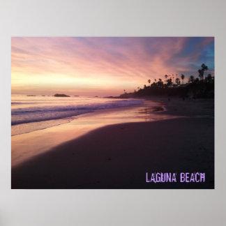 ラグナのビーチポスター ポスター