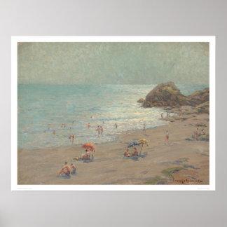 ラグナのビーチ、カリフォルニア(1214年) ポスター