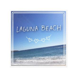 ラグナのビーチ キャンバスプリント