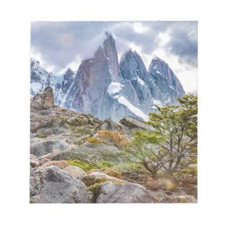 ラグナTorre El Chaltenアルゼンチン ノートパッド