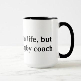 ラグビーのコーチ マグカップ