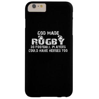 ラグビー-そうフットボール選手に英雄があります BARELY THERE iPhone 6 PLUS ケース