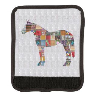 ラゲージハンドルラップの馬の動物のグラフィックアート ラゲッジ ハンドルカバー