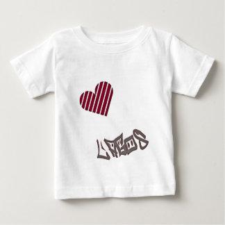 ラゴス愛 ベビーTシャツ