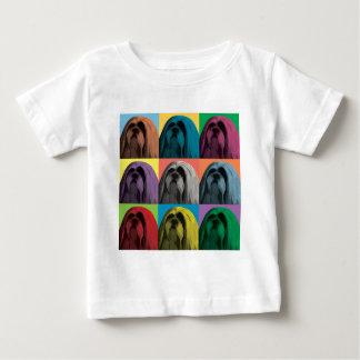 ラサApsoの破裂音芸術 ベビーTシャツ