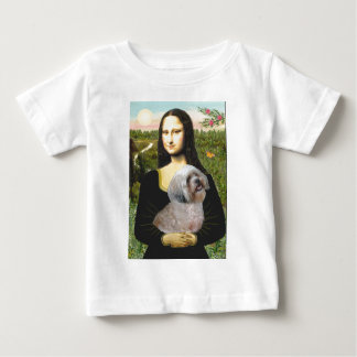 ラサApso 10 -モナ・リザ ベビーTシャツ