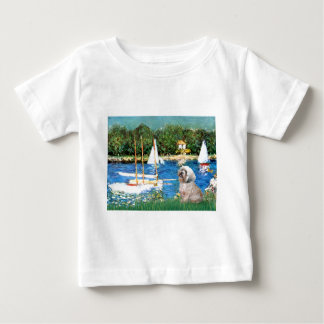 ラサApso 10 -ヨット ベビーTシャツ