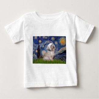 ラサApso 10 -星明かりの夜 ベビーTシャツ