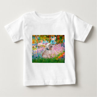 ラサApso 20 -庭 ベビーTシャツ