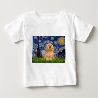 ラサApso 9 -星明かりの夜 ベビーTシャツ
