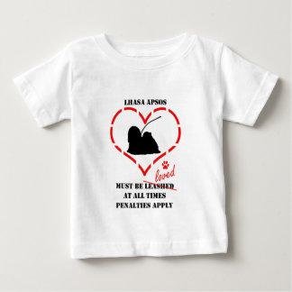 ラサApsosは愛されなければなりません ベビーTシャツ