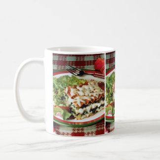 ラザニアの夕食 コーヒーマグカップ