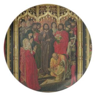 ラザロのトリプティクの復活; Lの上昇 プレート