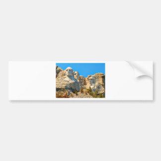 ラシュモア山のクラシックの眺め バンパーステッカー