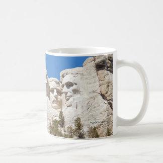 ラシュモア山のマグ コーヒーマグカップ